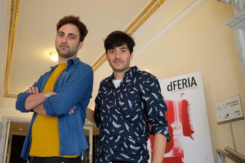 Gadiel Sztryk y Andrés Caminos, Dúo Sutottos. Foto: Santiago Farizano