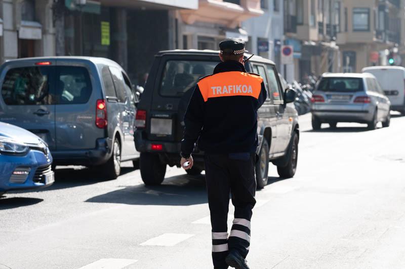 Imagen de archivo. Control de tráfico. Foto: Santiago Farizano