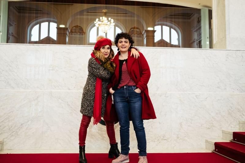 'Yo, la peor del mundo' con Ana Pimenta y Ainara Ortega. Foto: Santiago Farizano