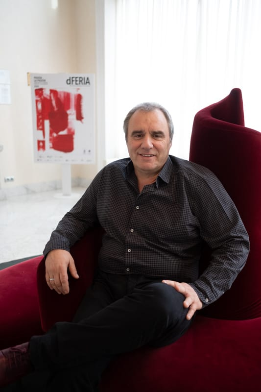 Carlos Morán. Foto: Santiago Farizano