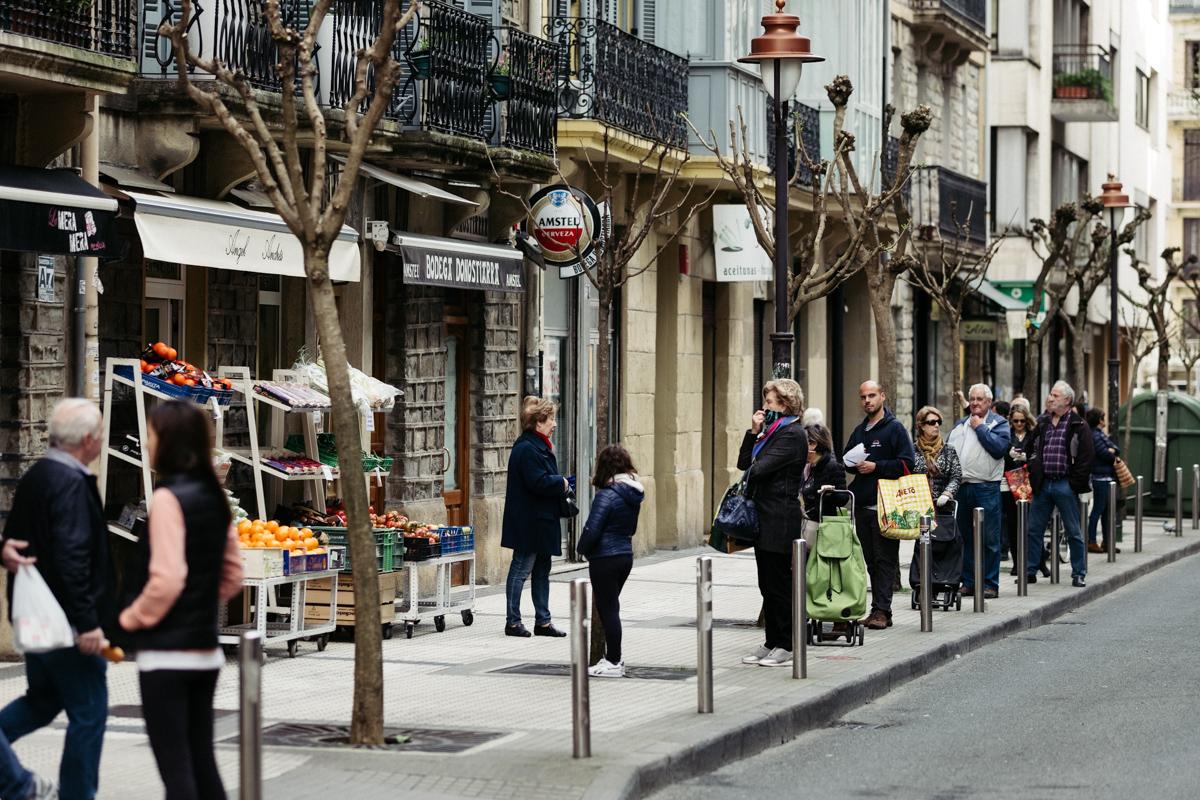 Imagen de archivo. Calle Matía en el Antiguo. Foto: Santiago Farizano