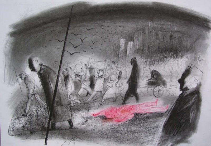 La peste escarlata Luis Scafati Libros para tiempos de pandemia