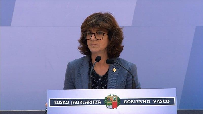 Nekane Murga. Foto: Gobierno vasco