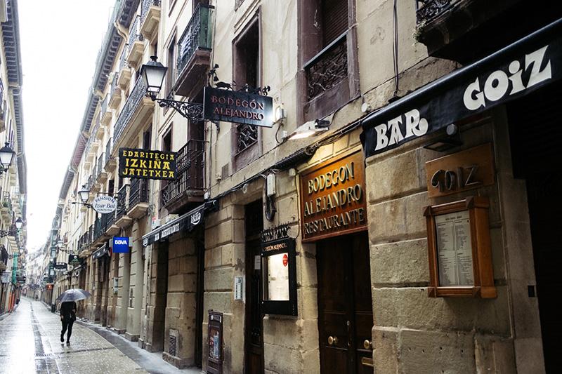 Imagen de archivo. Bares y locales de la Parte Vieja cerrados durante el Estado de Alarma. Foto: Santiago Farizano