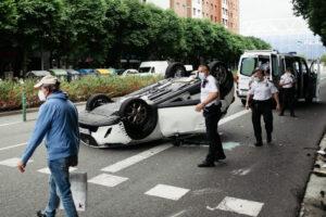 DSCF0941 300x200 - No ha habido coche a la fuga en el accidente de Amara Berri