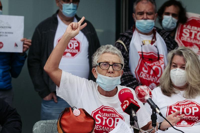 Rosa García de Stop Desahucios en una imagen de archivo. Foto: Santiago Farizano