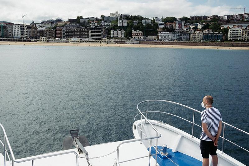 DSCF6429 800 El catamarán Ciudad San Sebastián surca ya el mar en su decimosegunda temporada