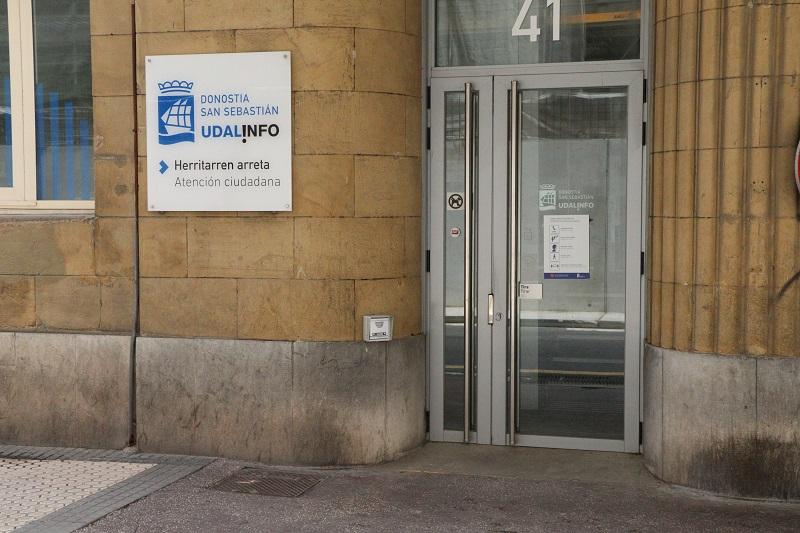 Oficina de Udalinfo en Easo. Foto: Ayutamiento