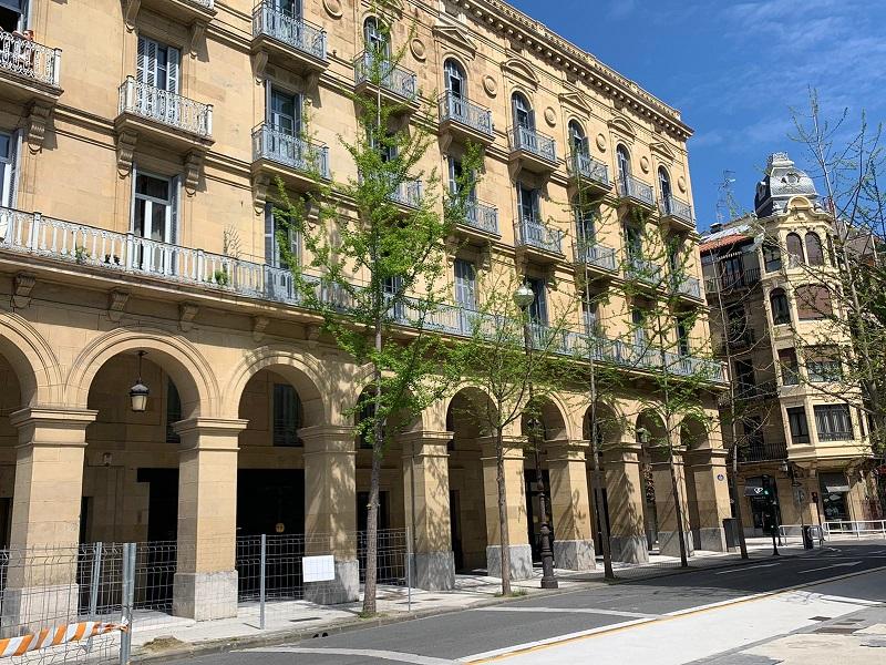 Hotel Arbaso en el centro donostiarra.