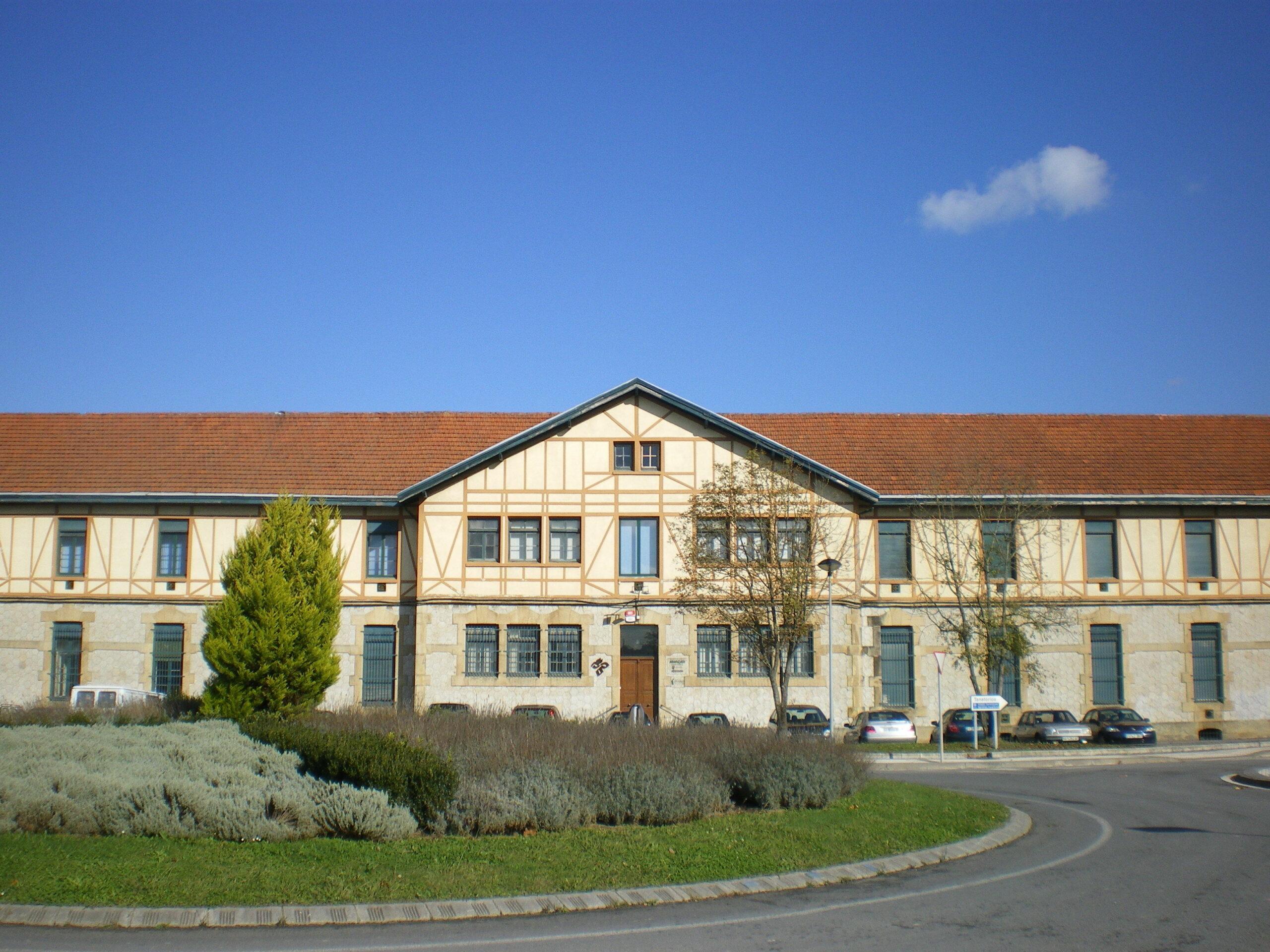 Sede la Sociedad de Ciencia Aranzadi en Zorroaga. Foto: Aranzadi