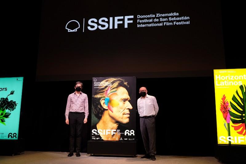 Presentación del cartel de Willem Dafoe. Fotos: Santiago Farizano