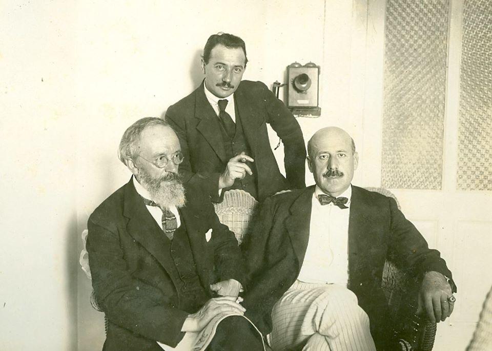 Ignacio con su amigo Pablo Uranga en la Habana en 1925.Foto Archivo Fundación Zuloaga.