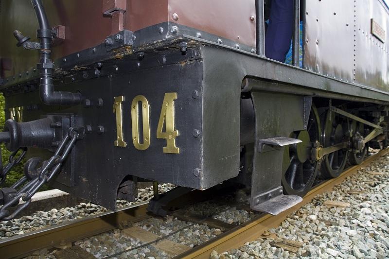 Tren de vapor. Foto: Euskotren