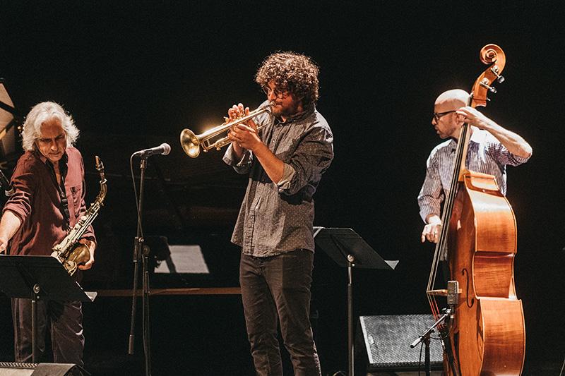 Homenaje a Charlie Parker en el Jazzaldi. Fotos: Santiago Farizano