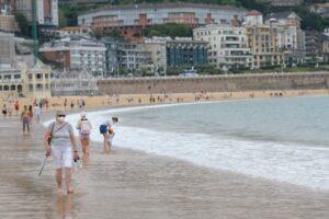 2020 0810 17213800 copy 1024x683 300x200 - Baño interrumpido por la posible presencia de un tiburón azul en las playas de Donostia