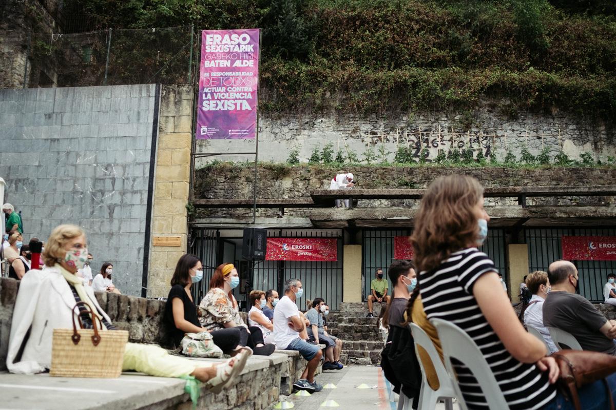 DSCF1573 - Arkaitz Dantza Taldea deja huella en la plaza de la Trinidad
