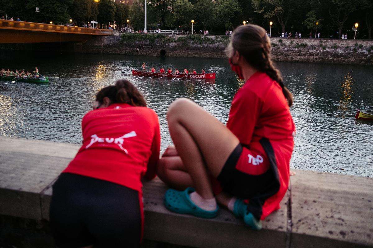 DSCF4267 - Abuztua Donostian Bandera: Hondarribia se impone en aguas del Urumea