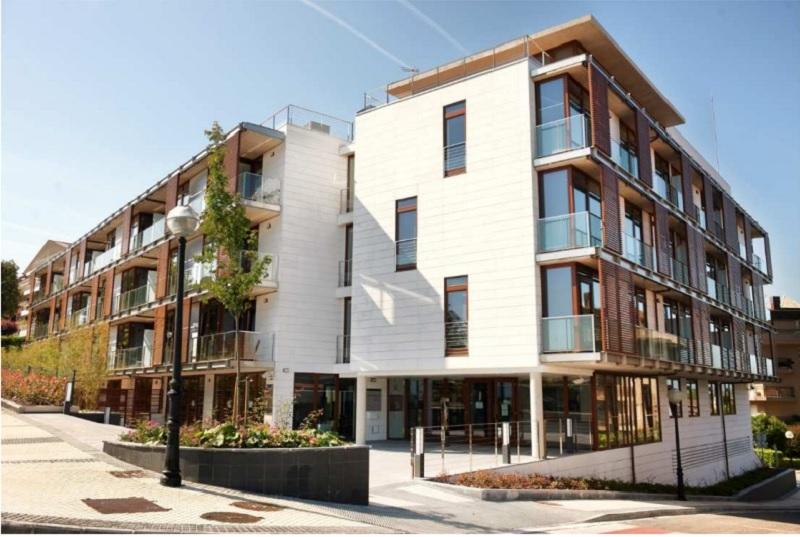 Edificio Talent House de alojamiento para personas investigadoras. Foto: Fomento San Sebastián