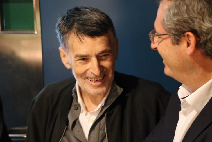 Torrealdai junto a Markel Olano. Foto: Diputación