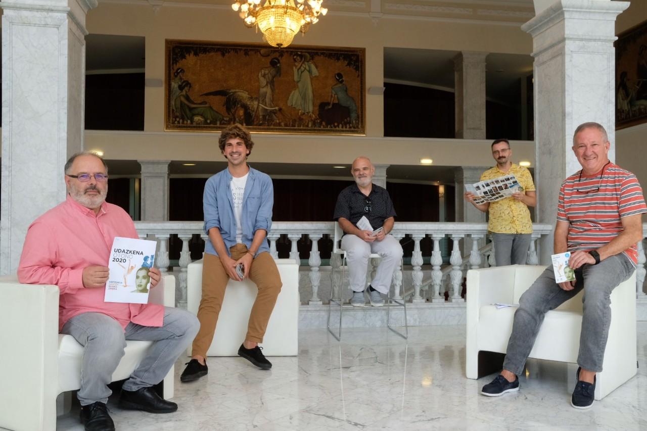 Presentación del programa de Donostia Kultura. Foto: Santiago Farizano