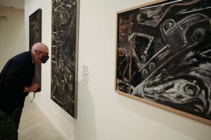 DSCF6490 300x200 - Kubo-Kutxa: 128 obras para sumergirse en la obra del pintor donostiarra Goenaga