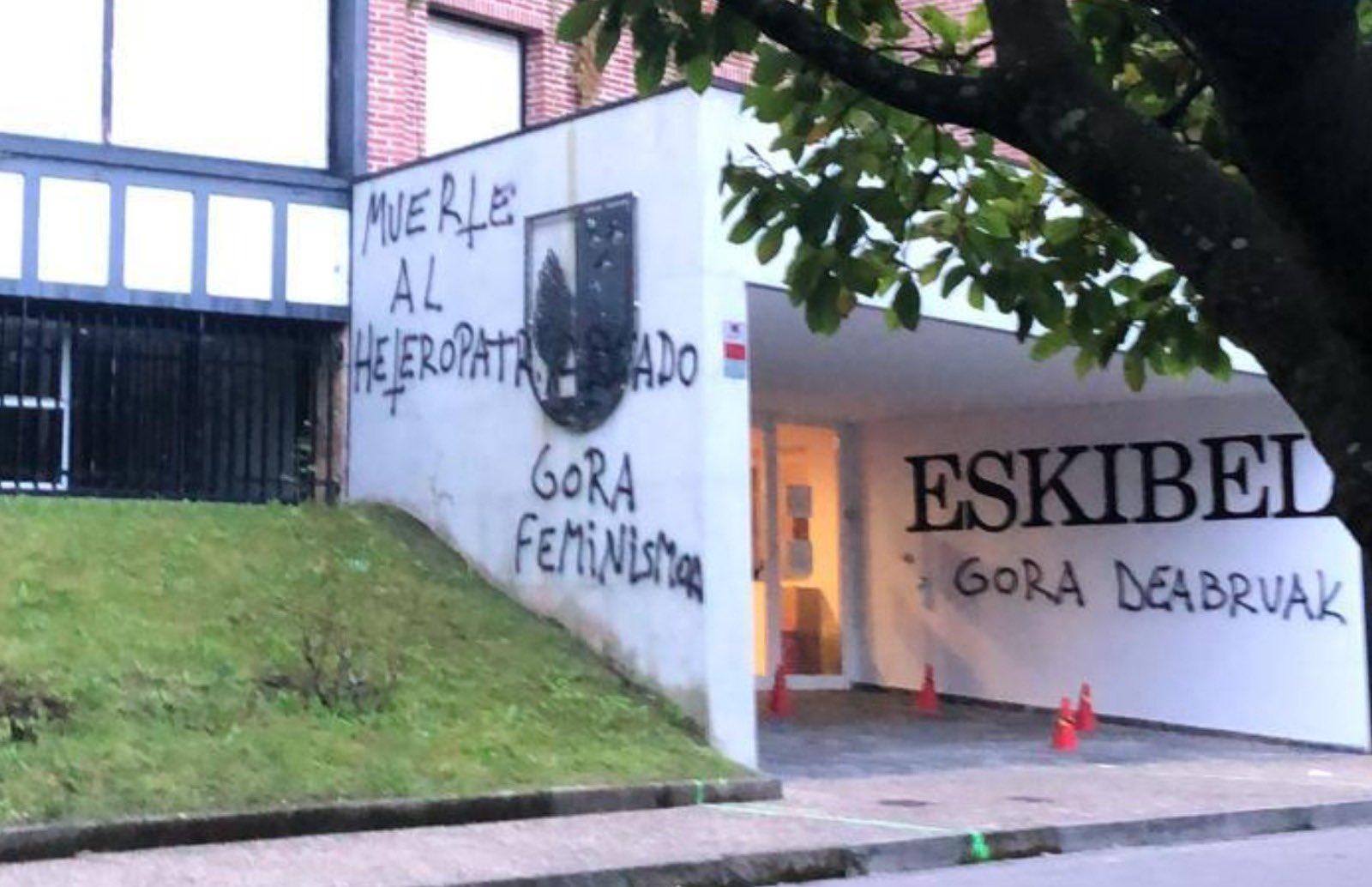 Imagen del centro educativo Eskibel. Foto: Twitter de Eneko Goia