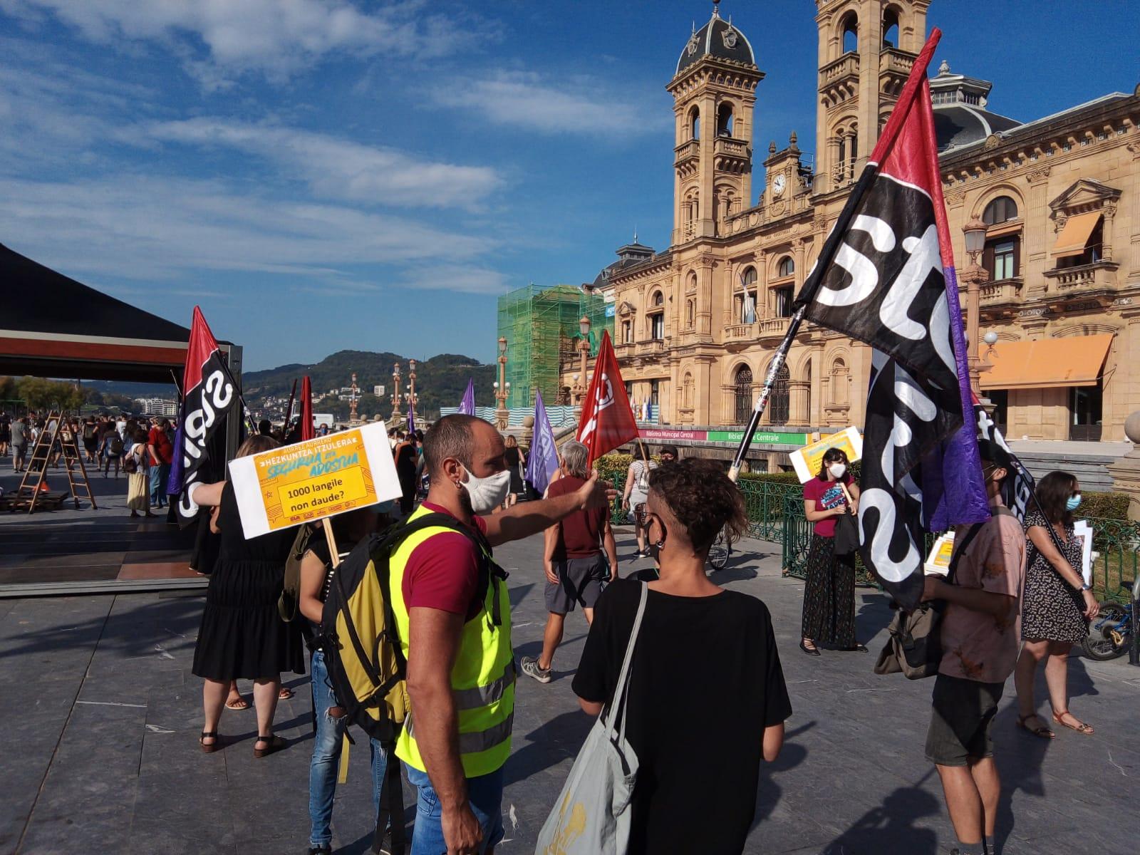 Manifestación Donostia