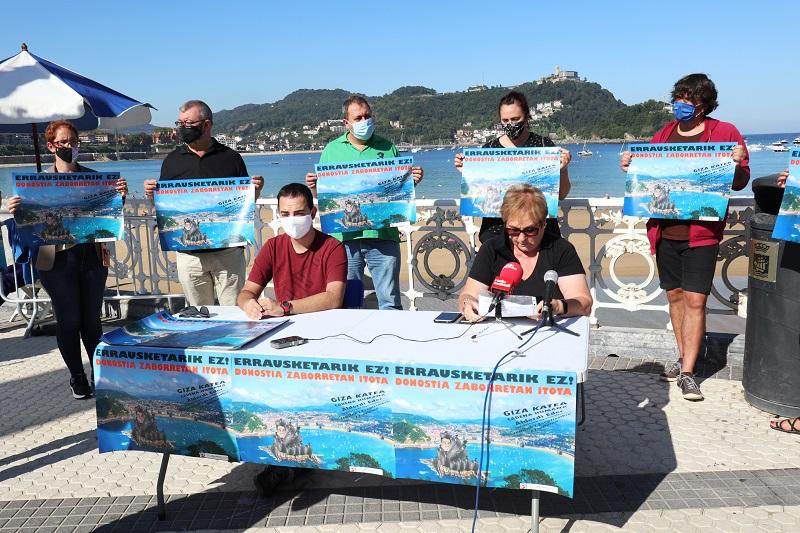 Representantes del Movimiento anti incineración esta semana. Foto: Movimiento Antiincineración