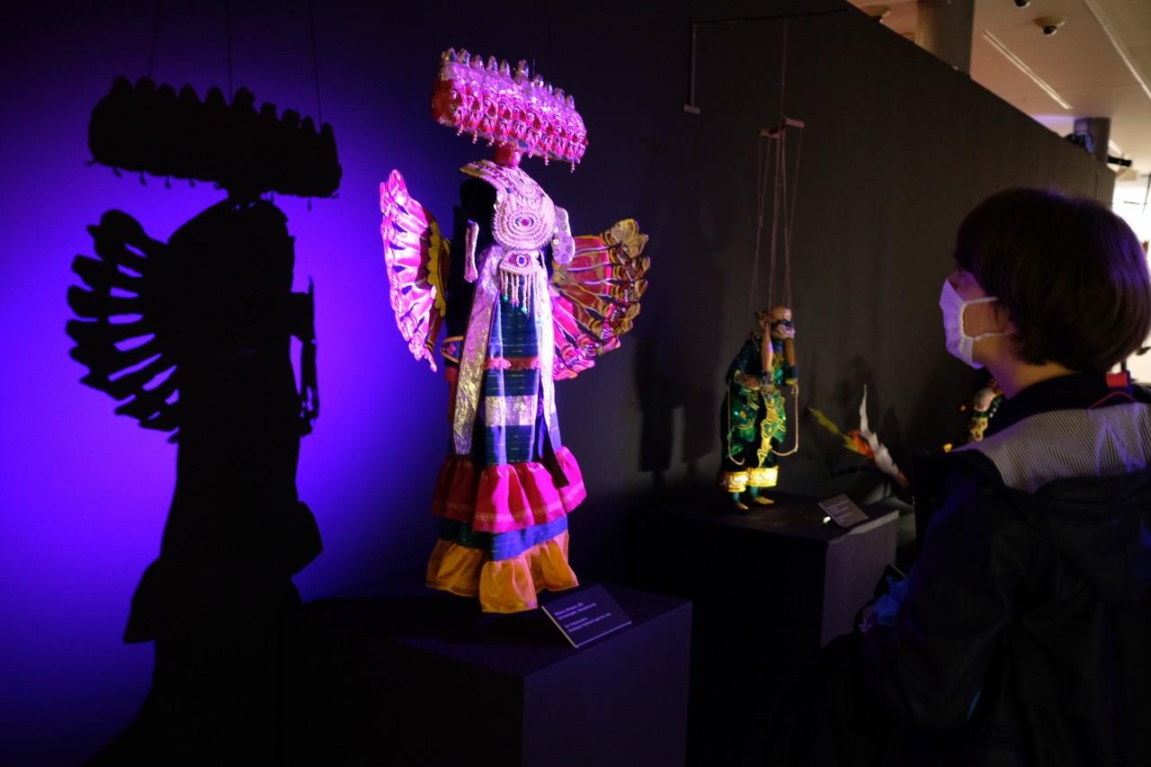 Exposición marionetas terror