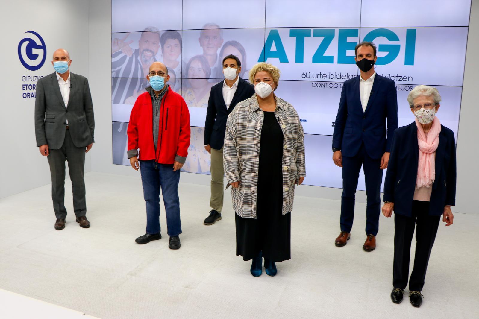 Presentación de la campaña de Atzegi. Foto: Diputación