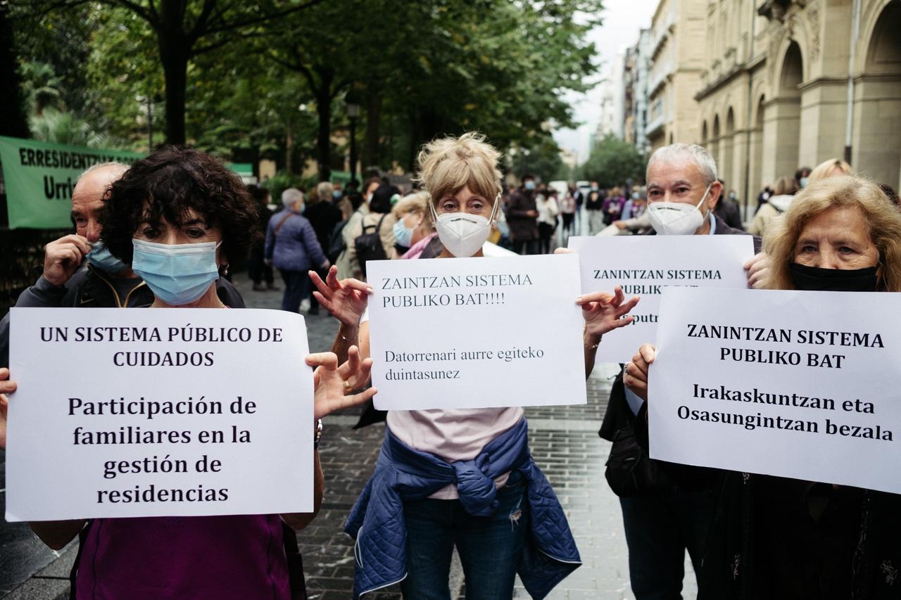 """DSCF3463 - Residencias: """"Este modelo de gestión con la pandemia es insostenible"""""""