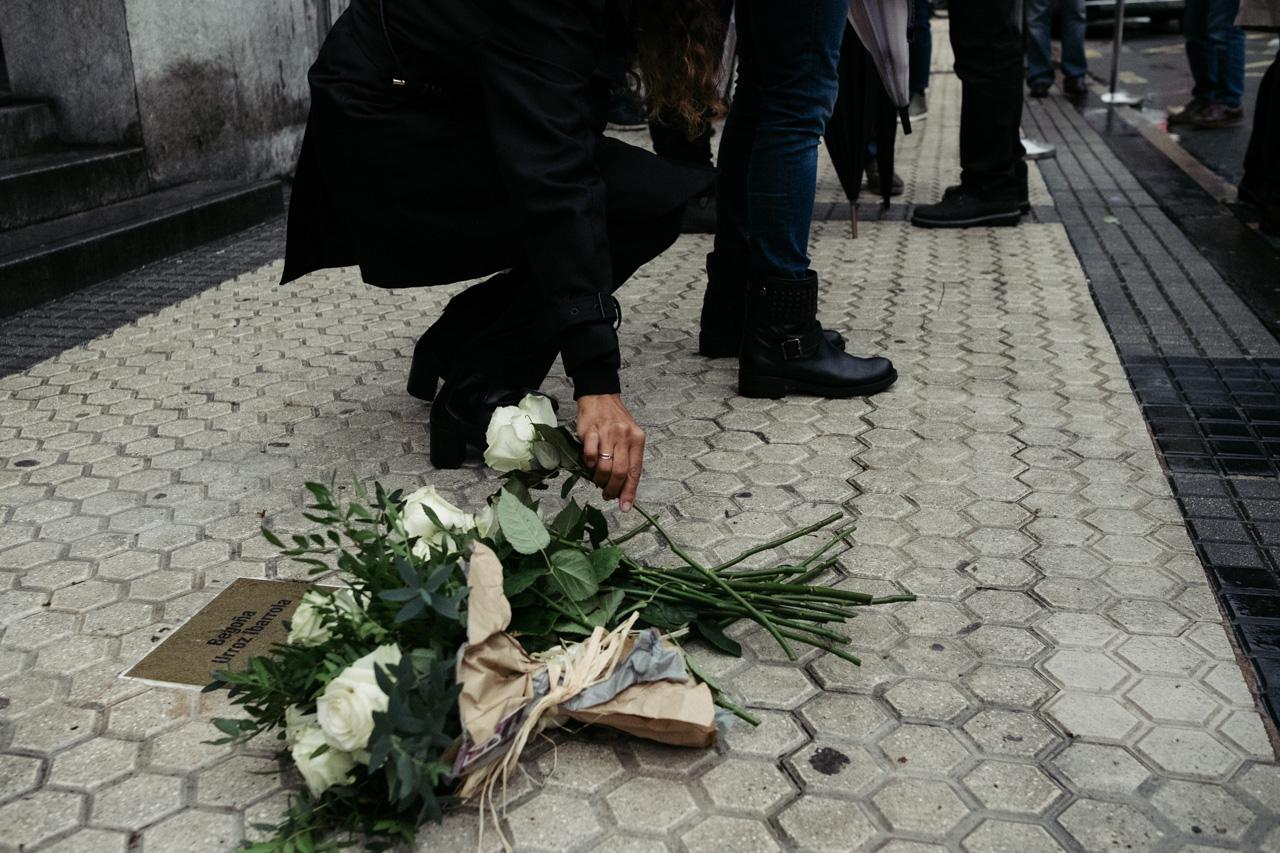 """DSCF4083 - Begoña Urroz: """"Mi padre murió sin que este atentado fuera reconocido"""""""