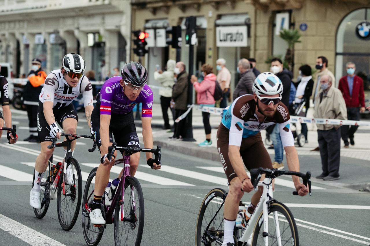 DSCF4295 - La etapa gipuzkoana de La Vuelta atraviesa Donostia