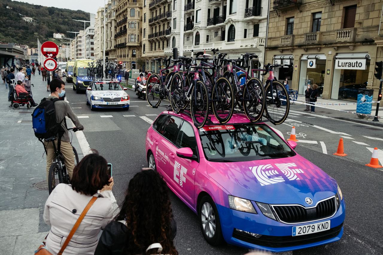 DSCF4355 - La etapa gipuzkoana de La Vuelta atraviesa Donostia