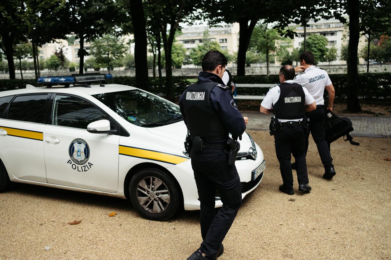 Guardia Municipal. Foto de archivo: Santiago Farizano