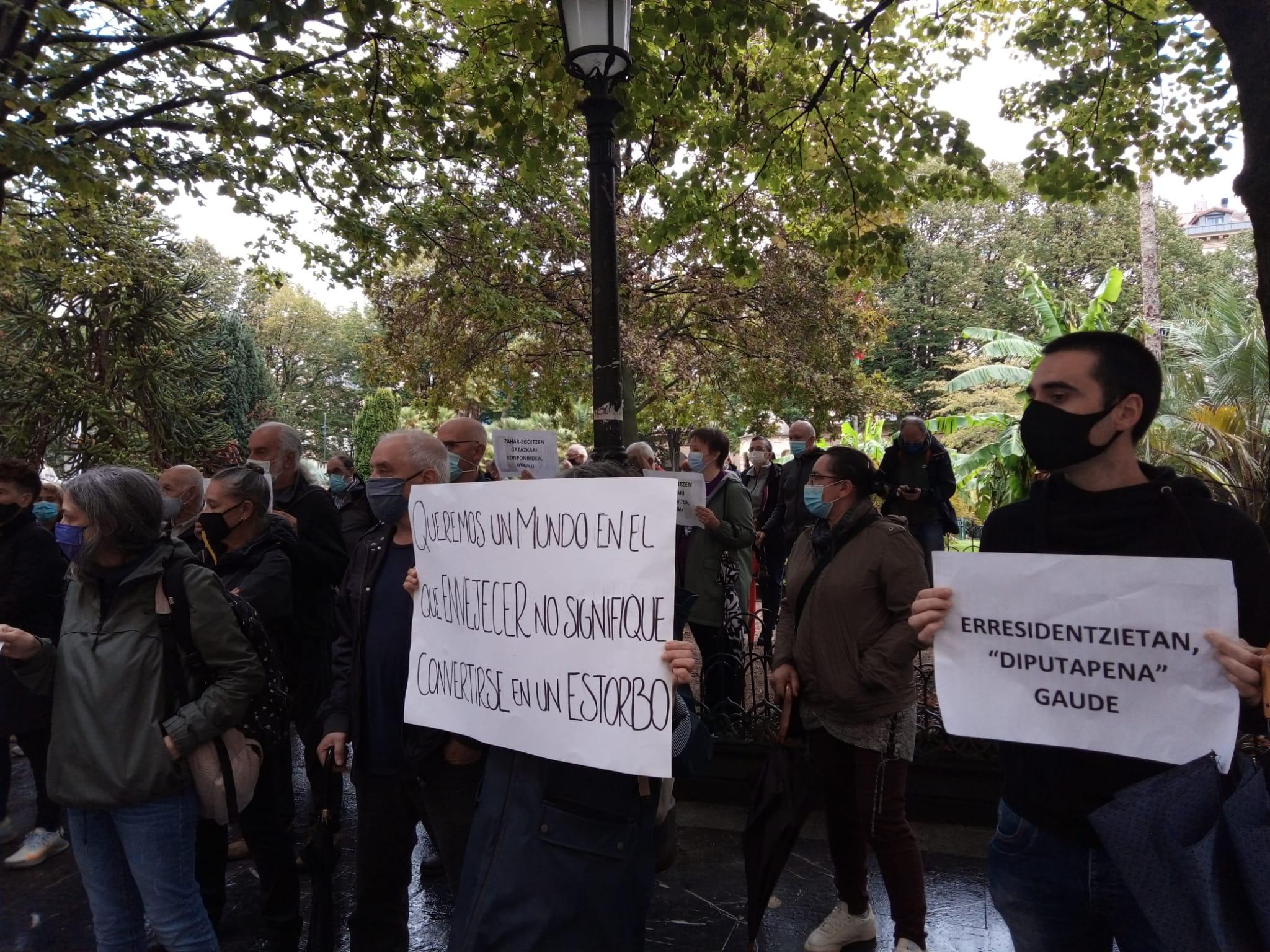 IMG 20201001 WA0009 Residencias: Escepticismo de Gipuzkoako Senideak de cara a la 'reapertura'