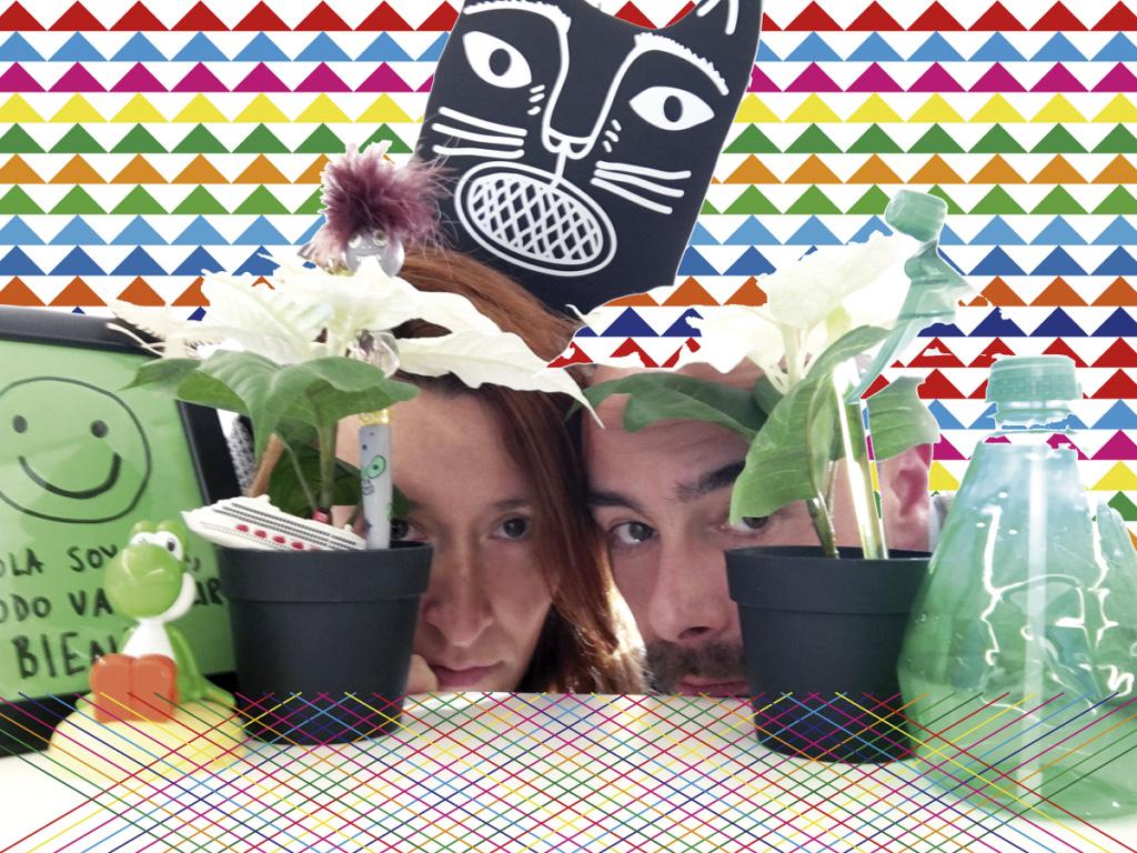 Ana Barrantes y Jon Estala. Foto: NODE