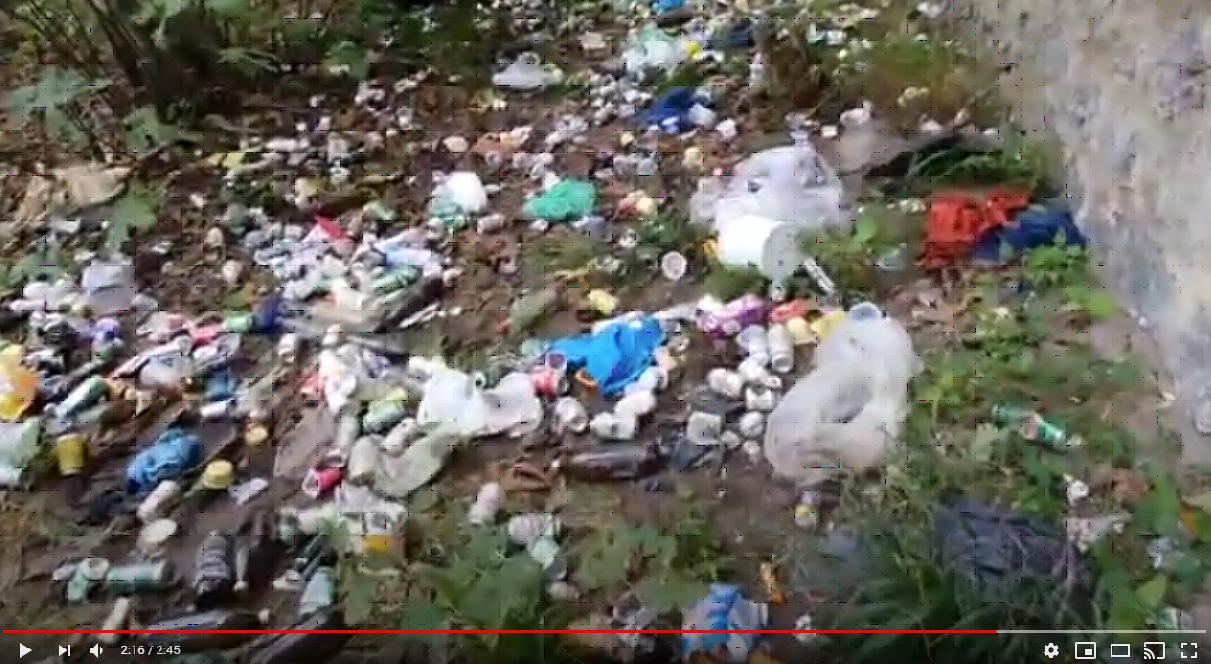 Imagen del vídeo del río Oria a su paso por Tolosa. Foto; Vídeo Eguzki