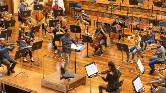 Máster de Estudios Orquestales de Musikene. Foto: Euskadiko Orkestra