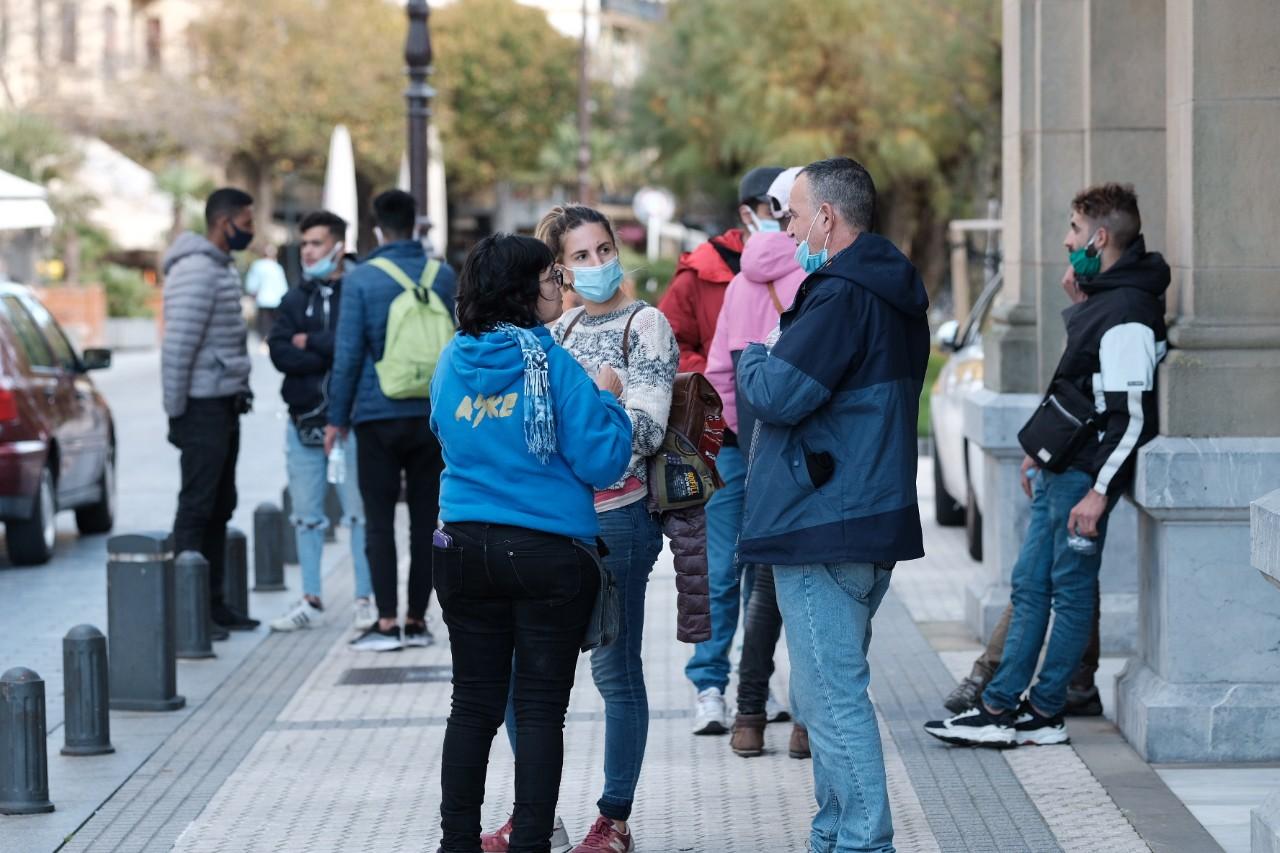 """2020 1105 14235400 copy 1280x853 - El Infierno: """"60 personas más que se van a la calle en Donostia en plena pandemia"""""""