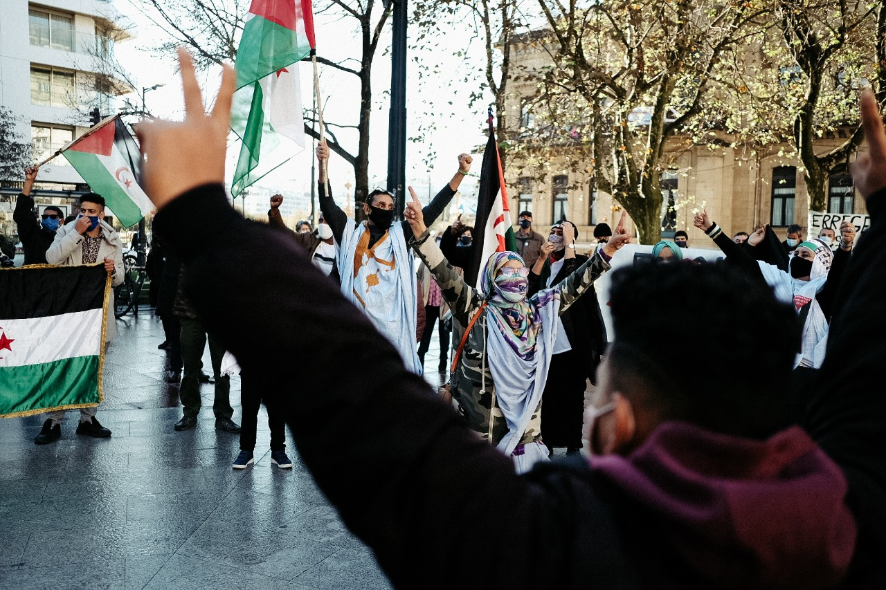 2020 1121 12020700 copy 1280x853 - Donostia se manifiesta por una 'Sáhara libre'