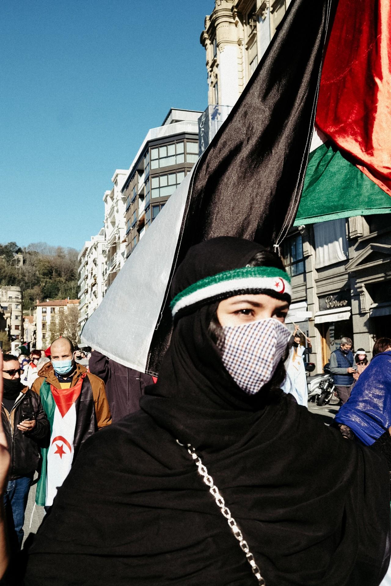2020 1121 12180400 copy 1280x1920 - Donostia se manifiesta por una 'Sáhara libre'