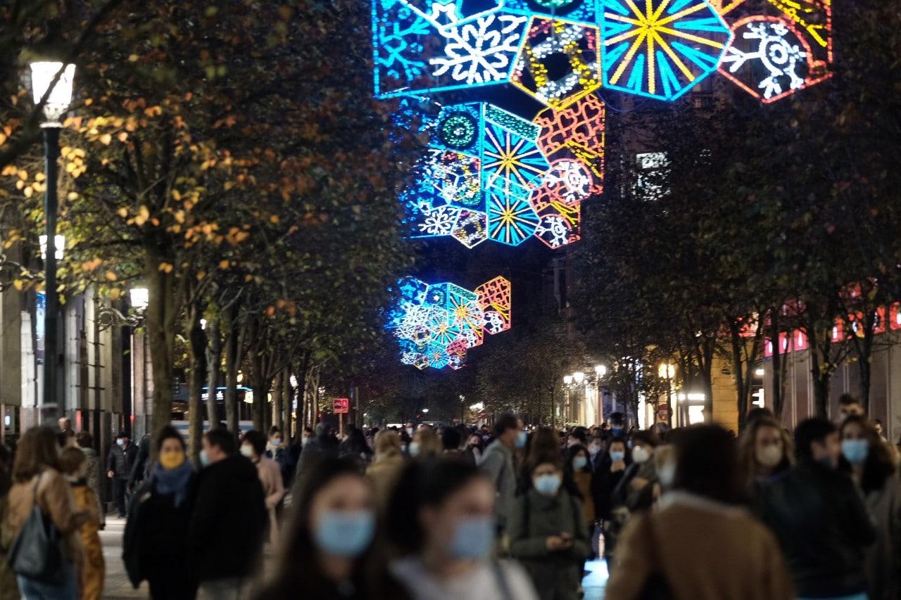 2020 1127 19045800 copy 1280x853 - Donostia se ilumina en su Navidad menos alegre