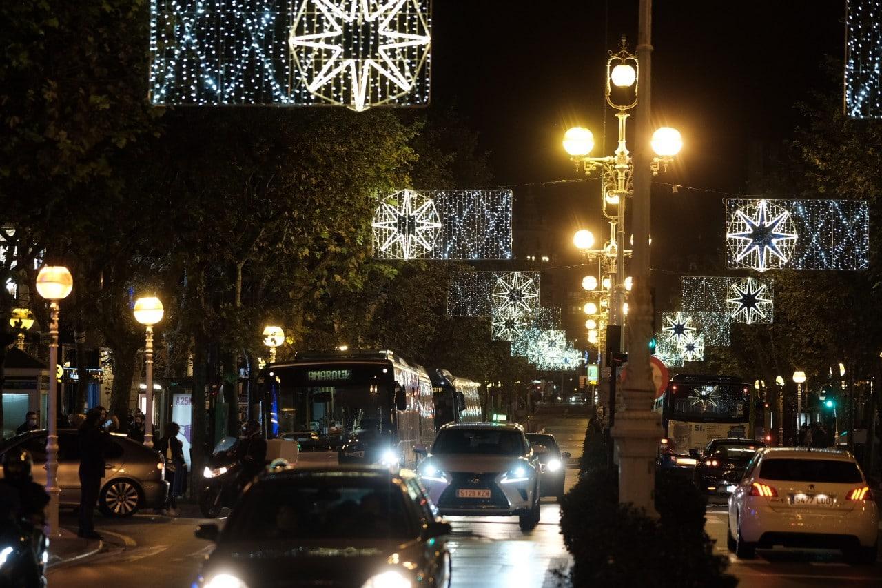 2020 1127 19094000 copy 1280x853 - Donostia se ilumina en su Navidad menos alegre