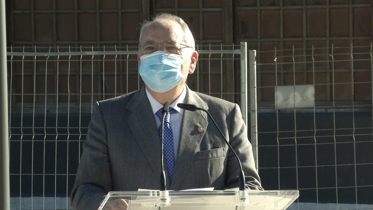 Iñaki Arriola, hoy, en Donostia. Foto: Gobierno vasco
