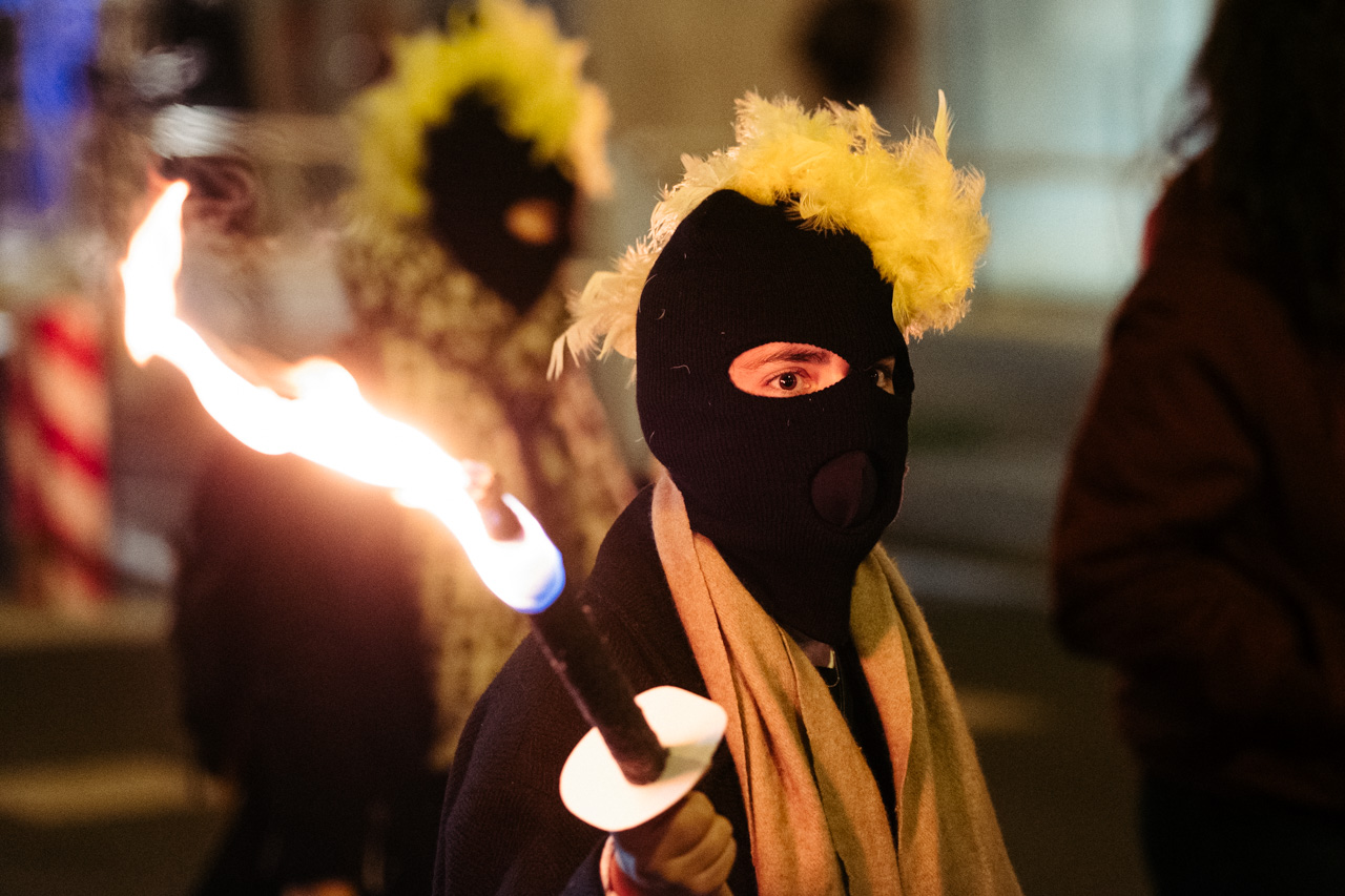 DSCF0879 - 25N: Nutrida manifestación en Donostia contra la violencia machista