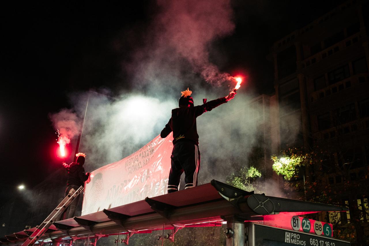 DSCF0994 - 25N: Nutrida manifestación en Donostia contra la violencia machista