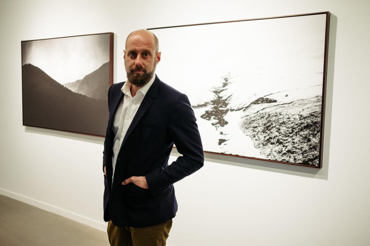 DSCF6995 - El donostiarra Jon Cazenave presenta su 'Galerna' en Kutxa Kultur Artegunea