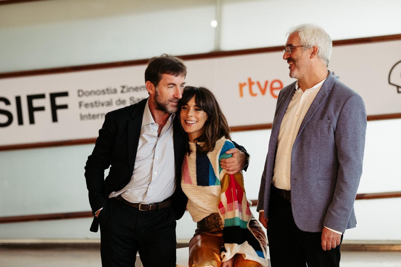 Presentación de 'La trinchera infinita' en el Zinemaldi de 2019. Foto: Santiago Farizano