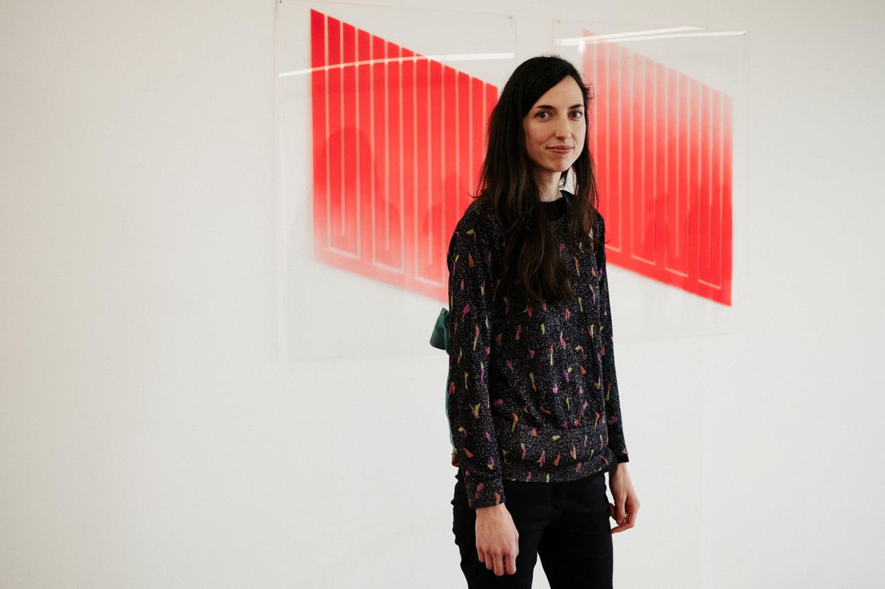 Nagore Amenabarro presenta 'Platina' en San Telmo Museoa. Fotos: Santiago Farizano